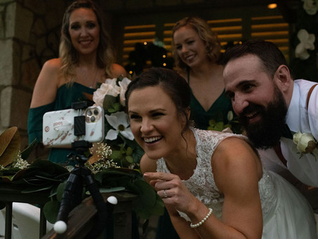 A Quarantine Wedding!