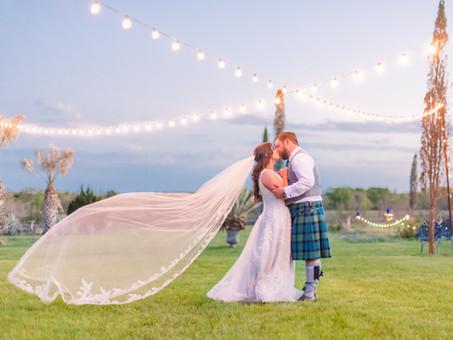 LOGAN & DOMINIC'S SCOTTISH WEDDING - March 28, 2021