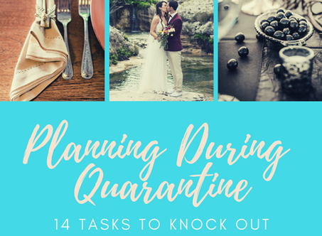 Planning a Wedding While in Quarantine?