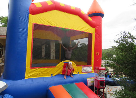 CRAYON BOUNCY HOUSE