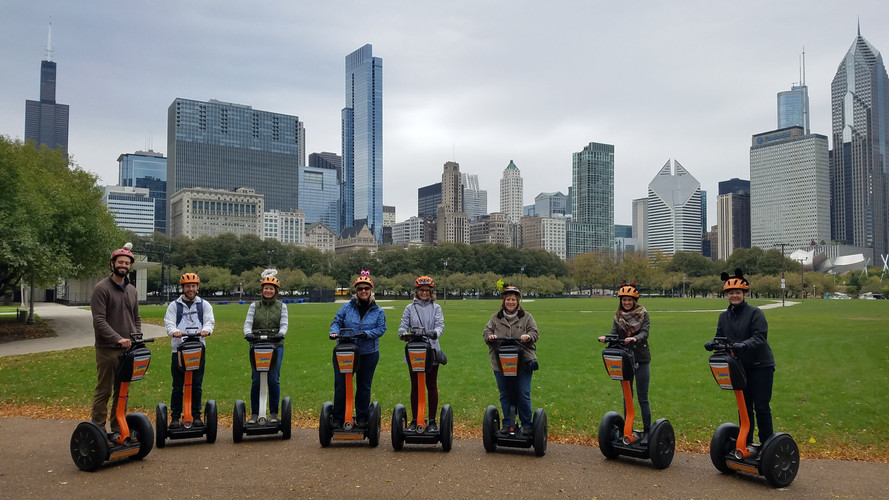 Segwaying in the City