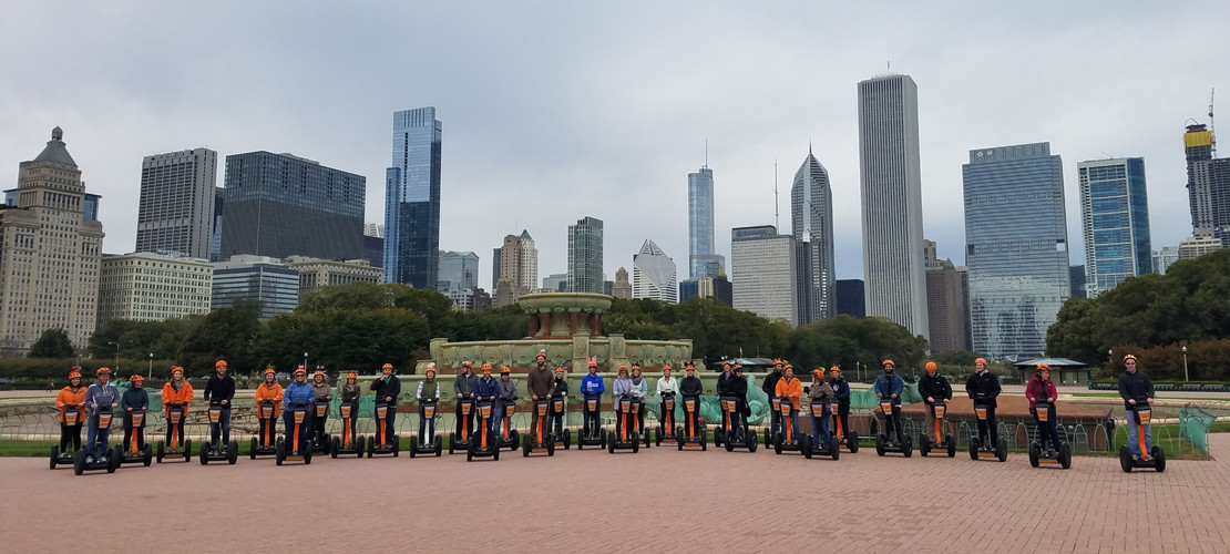 ECC Segwaying in Chicago