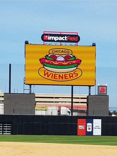 Chicago Dogs Sign