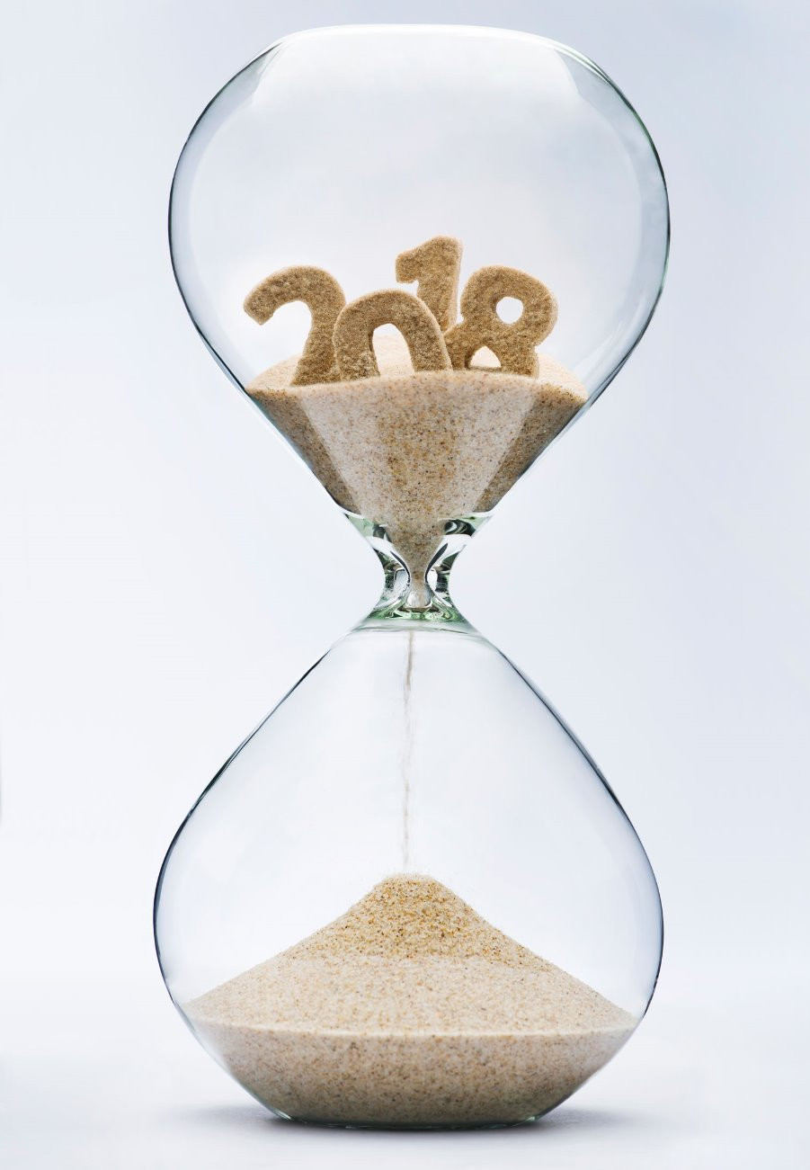 Hourglass midway through 2018