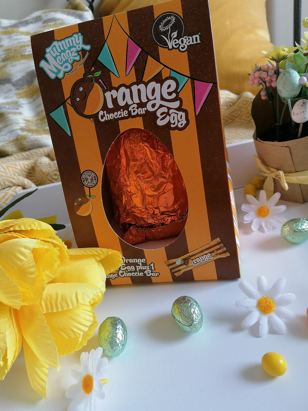 Mummy Meagz Orange Choccie Bar Egg