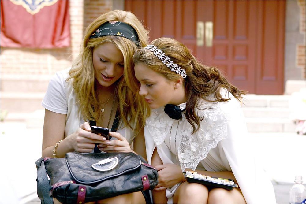 Serena and Blair, Gossip Girl, Netflix