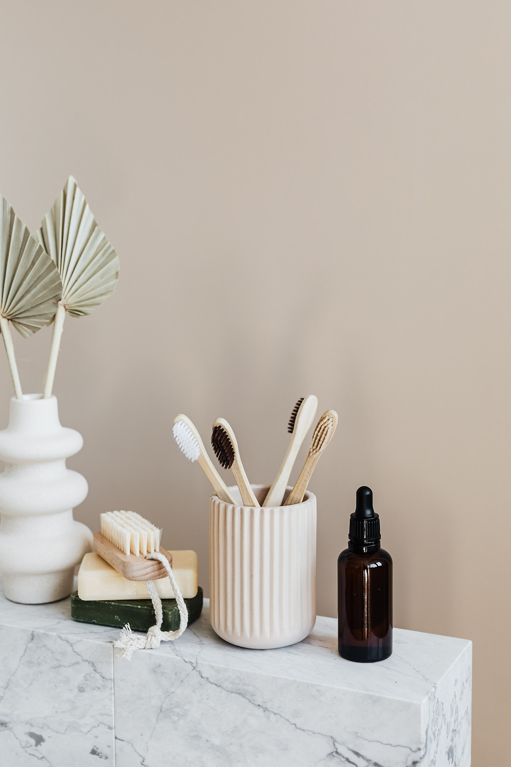 Eco friendly wooden toothbrushes