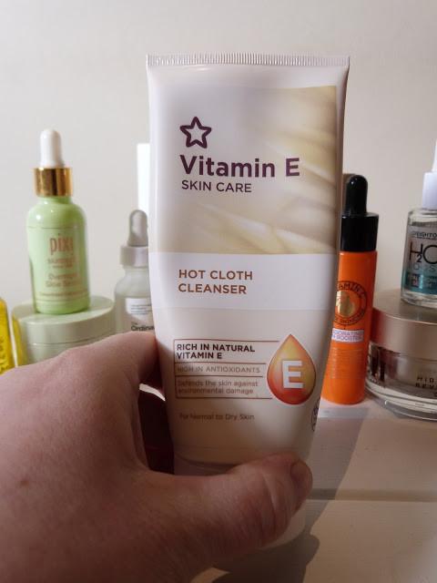 Close up shot of Superdrug Hot Cloth Cleanser