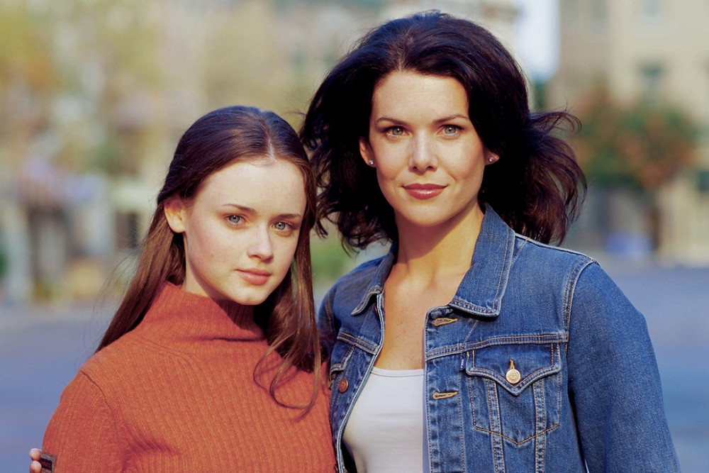 Title picture for the Netflix Show Gilmore Girls
