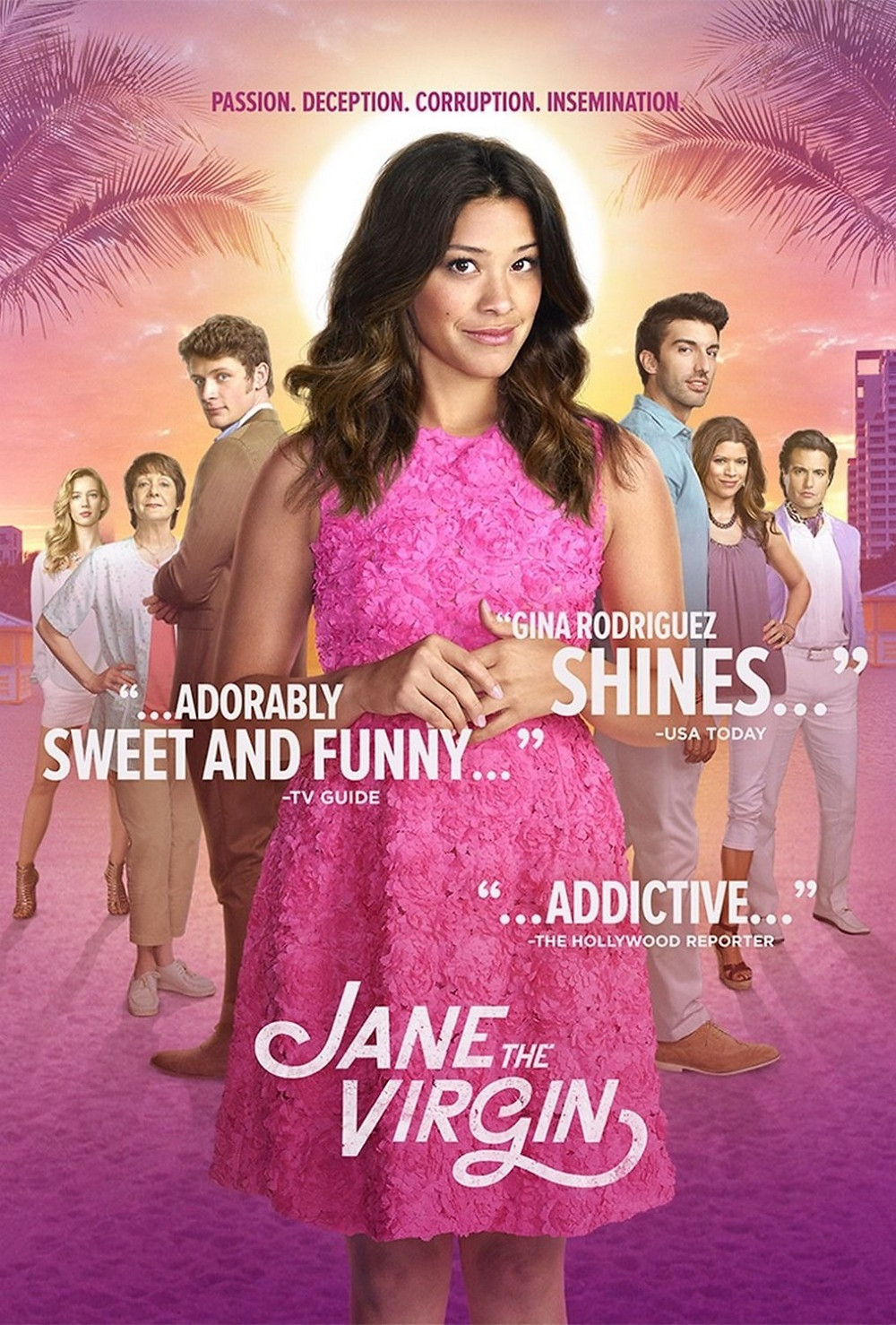 Title picture for Netflix Show Jane The Virgin