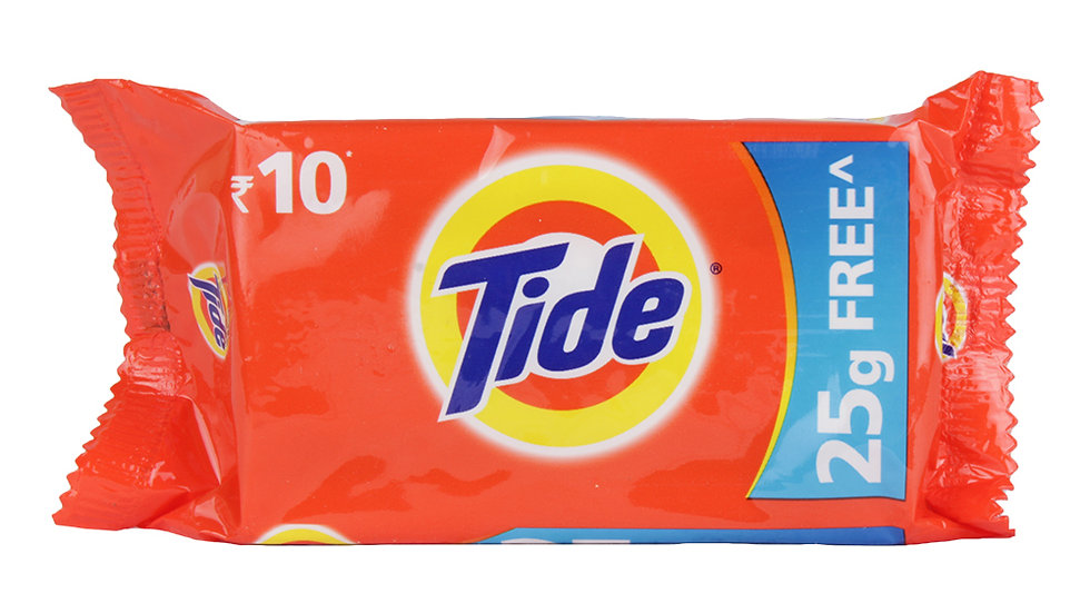 Tide Bar Rs.10 (Pack of 4)