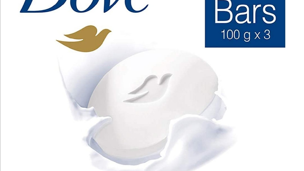 Dove soap 100g (Pack of 3)