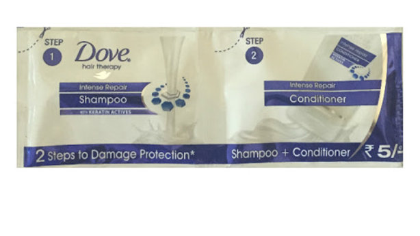 Dove Shampoo+Conditioner Rs.5 (Pack of 16)