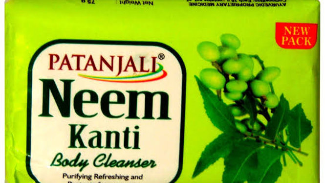 Patanjali Neem Kanti Soap Rs. 15 (Pack of 2)