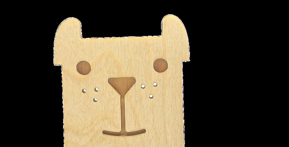 Маска для деревянного ночника лампуна «Собакун»