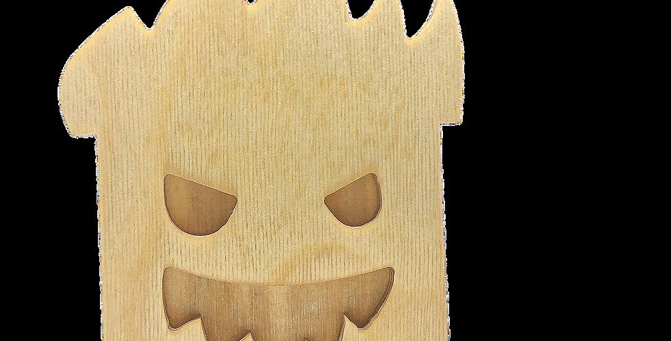 Маска «Пугун» для деревянного ночника лампуна