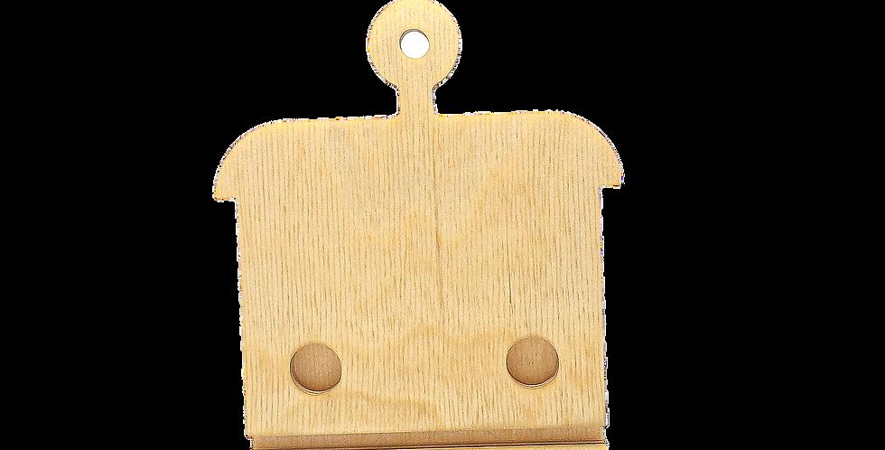 Маска «Морковка» для деревянного ночника лампуна
