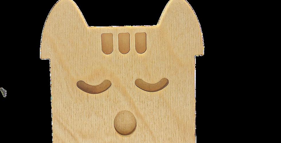 Маска «Спун» для деревянного ночника лампуна