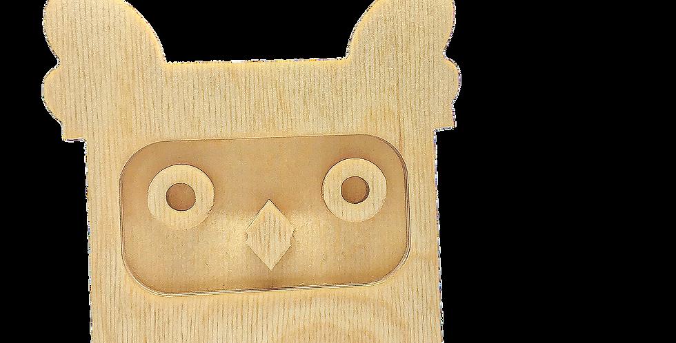 Маска «Совун» для деревянного ночника лампуна