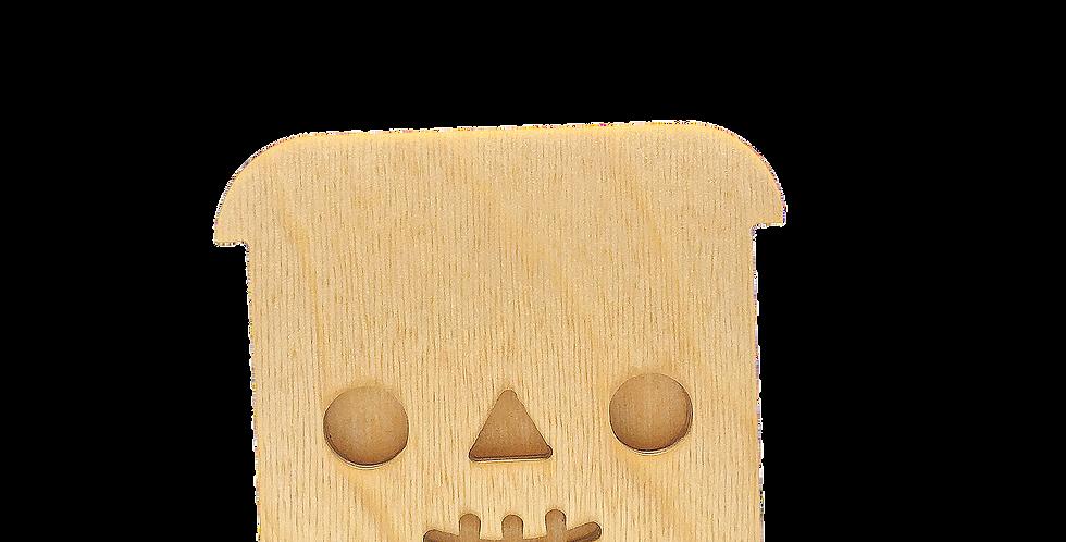 Маска для деревянного ночника лампуна «Скелетун»