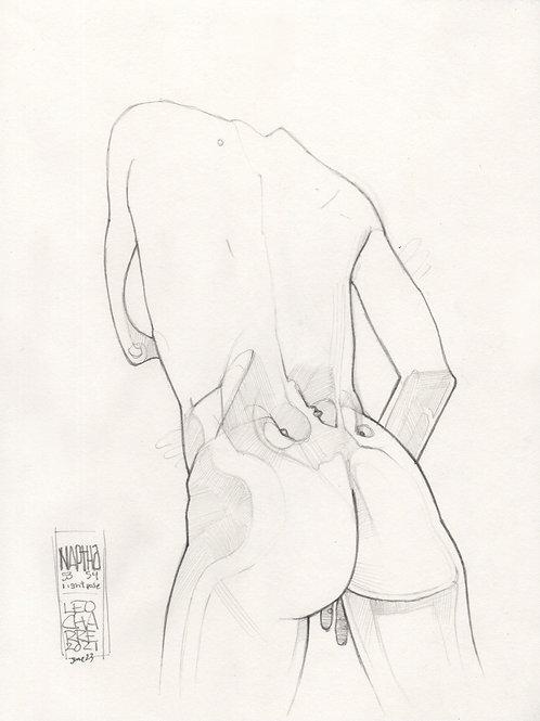 Sketch - Figure Naphtha 06