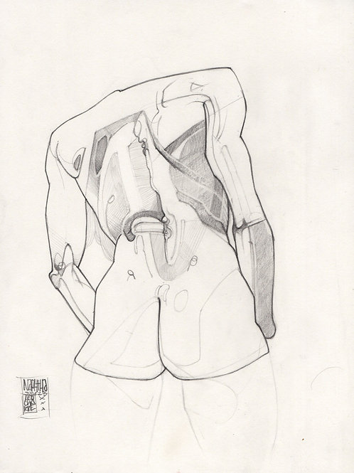 Sketch - Figure Naphtha 01