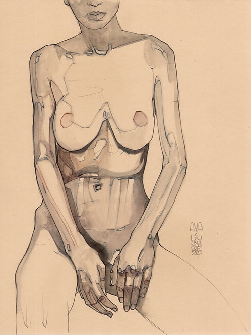 Sketch - Figure And Torso Aya