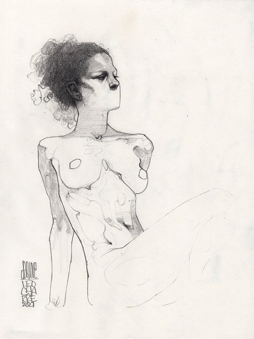 Sketch - Figure Darine 18