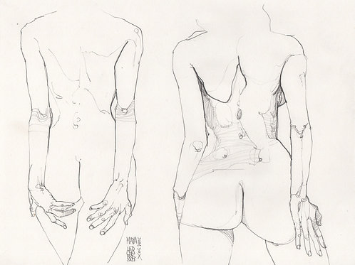 Sketch - Figure Maya Doubles