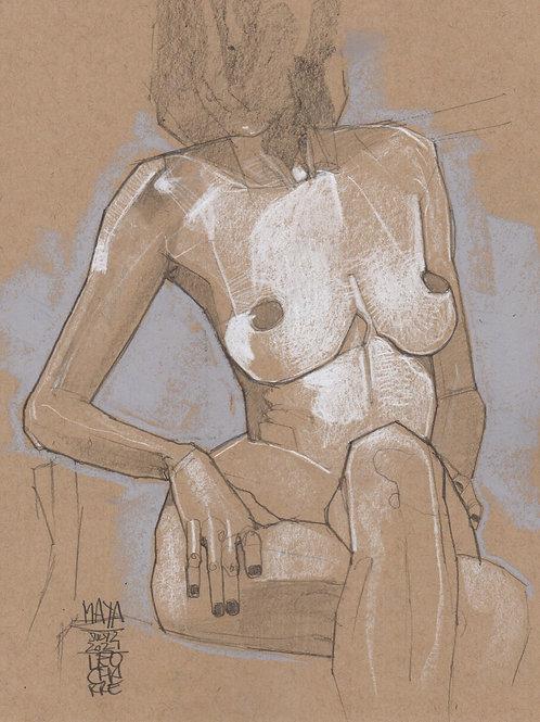 Maya Torso 32 Sketch