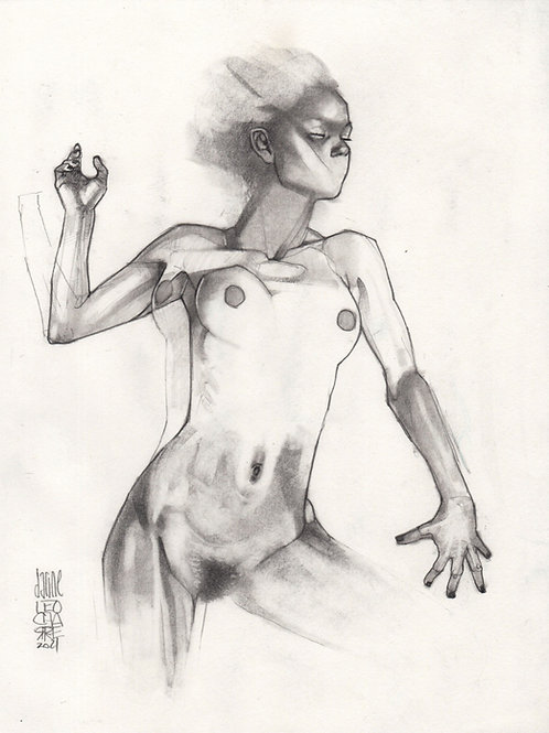 Sketch - Figure Darine 07