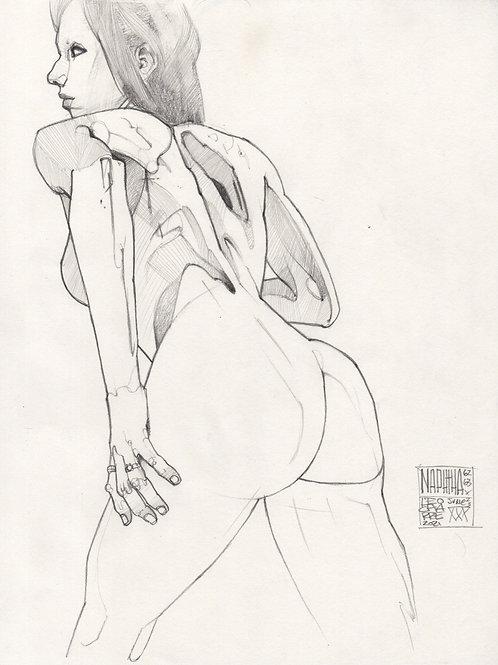Sketch - Figure Naphtha 04