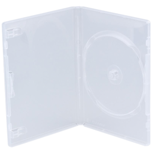 DVD Box 3CD/DVD, transparent
