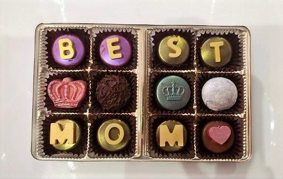 Best Mom Truffle Box