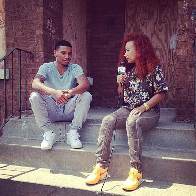 Interviewing Diante Watkins