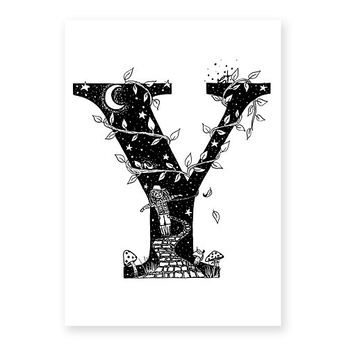 Fairytale Letter Y