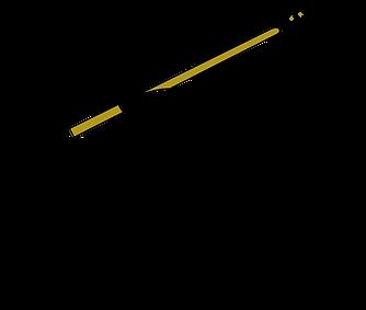 Alderdoodle Hand & Pen logo illustration