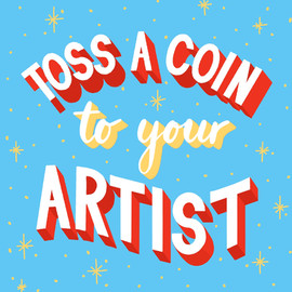 Toss a coin to your artist