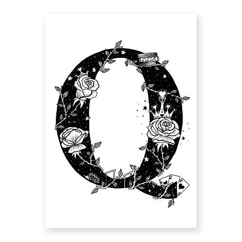 Fairytale Letter Q