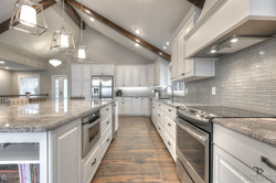 clean lines-beautiful kitchen remodel