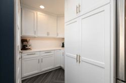 spacious pantry in kitchen remodel
