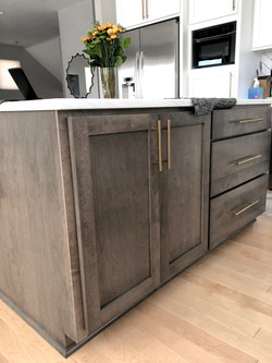 kitchen island-Downtown Kansas City remodel