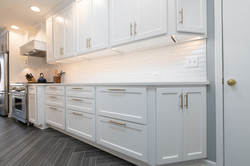 clean design for kitchen remodel