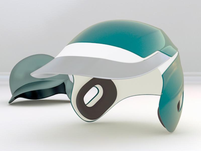 南海ホークスの2010年型ヘルメット アイデア 2008年