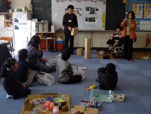 小学校の工作指導 2009