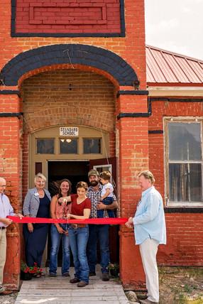 Old Schoolhouse Café Ribbon Cutting