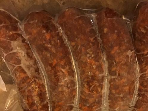 Beef Chorizo Sausage