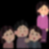 女性の発達障害のイラスト