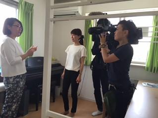 『産後うつ』について朝日テレビさんの取材がありました~☆
