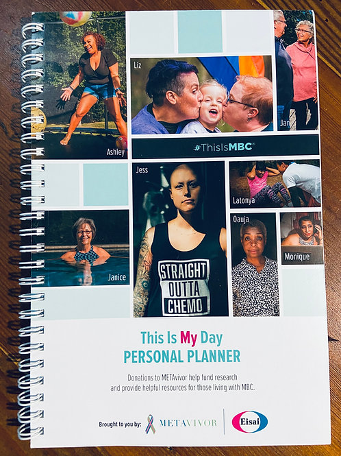 DONATION! #ThisIsMBC Perseverance Personal Planner